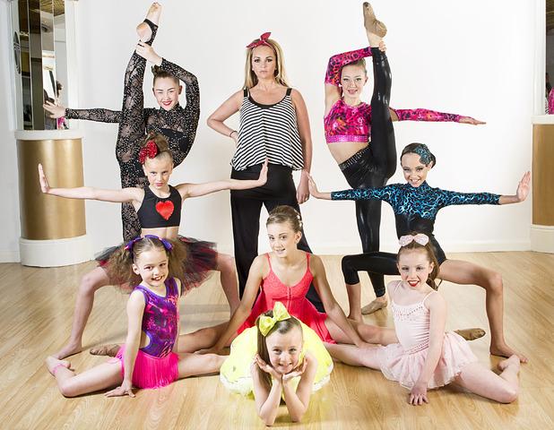 Dance Mums With Jennifer Ellison promo shots