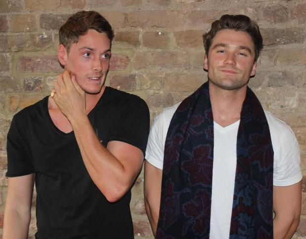 Made In Chelsea's new cast members Lonan O'Herlihy and Will Colebrook - 9 October.
