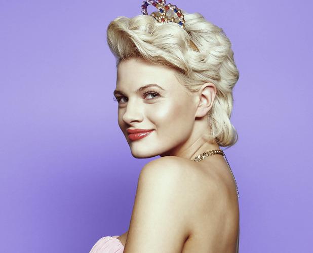 X Factor's Chloe-Jasmine Whichello - glam shot - 5 October 2014