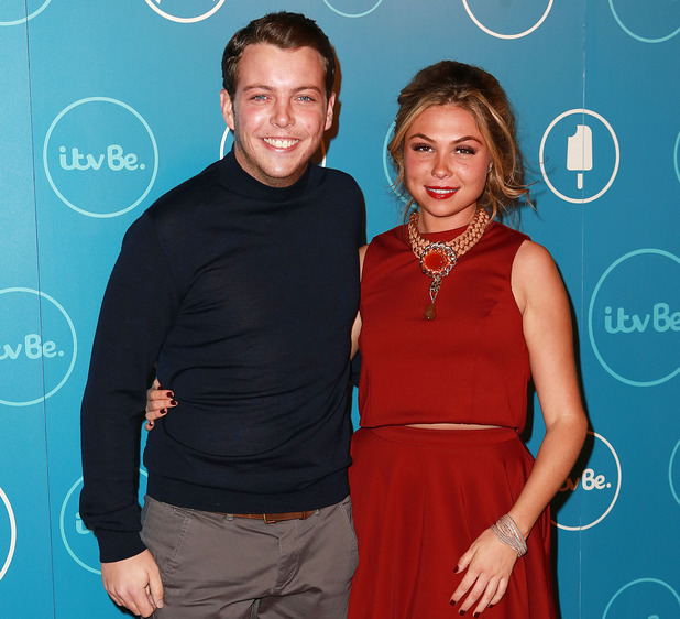 Fran Parman and James Diags Bennewith at ITVBe launch, London 7 October