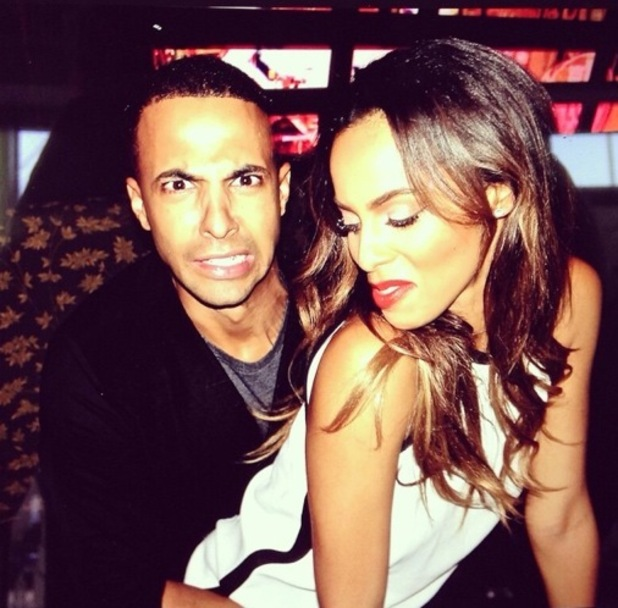 Rochelle Humes and Marvin Humes dancing 6 October
