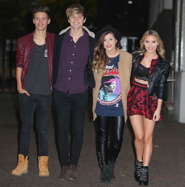 X Factor's Only The Young appear on Good Morning Britain, ITV Studios, London 6 October