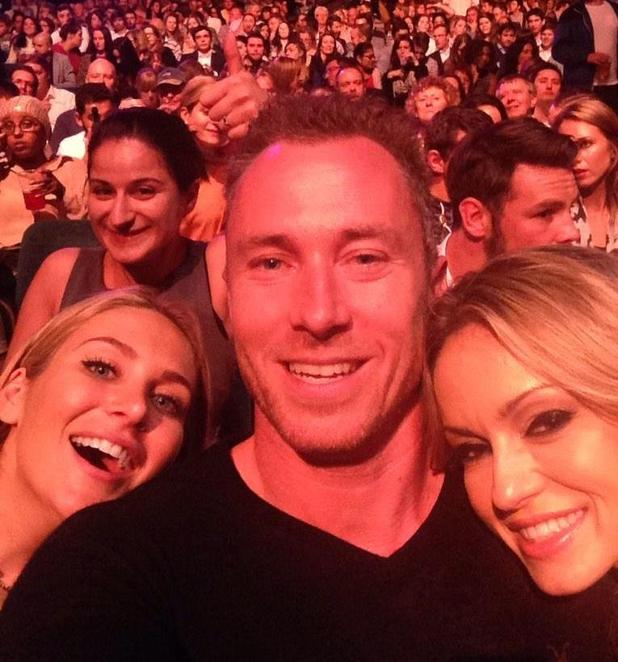 CBB's Stephanie Pratt and James Jordan watch Live At The Apollo show  - 8 October.