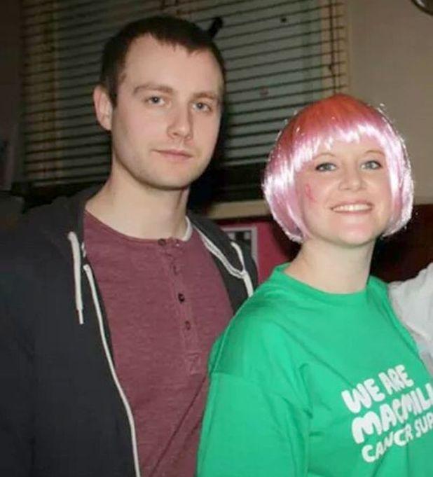 Connie Johncock and her boyfriend Mark