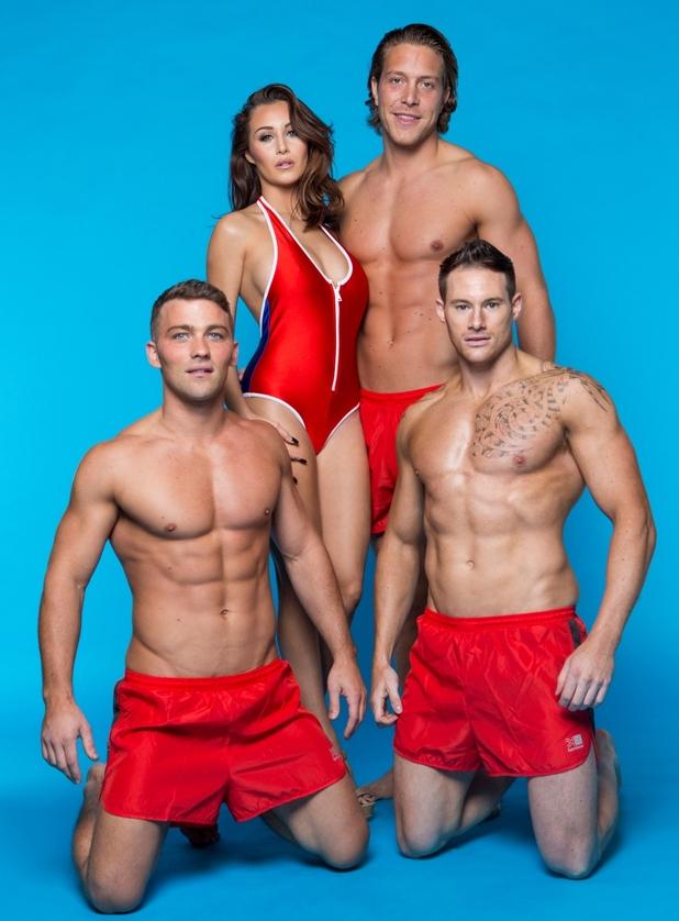 Chloe Goodman's promo shots for her own dating site, Chloe's Beach 8 October