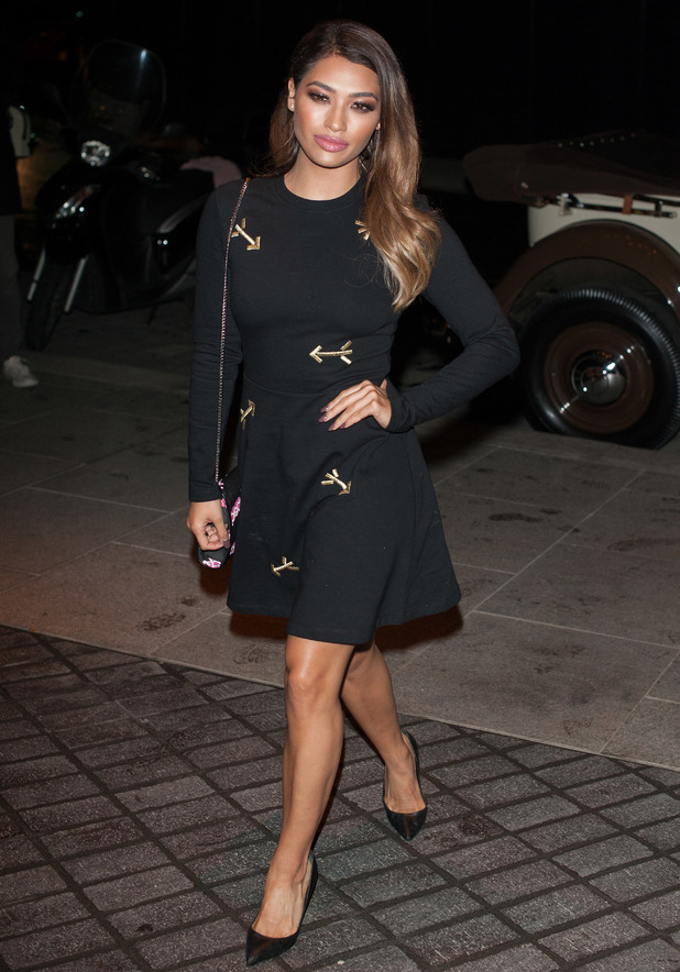 Vanessa White attends the launch for Mondrian Hotel London, London 9 October