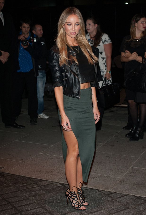 Lauren Pope attends Mondrian London Hotel launch party, London 9 October