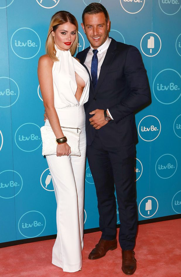 Chloe Sims and Elliott Wright at ITVBe launch, London 7 October