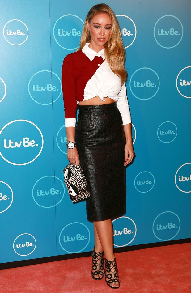 Lauren Pope at itvBe launch party, London, Britain - 07 Oct 2014
