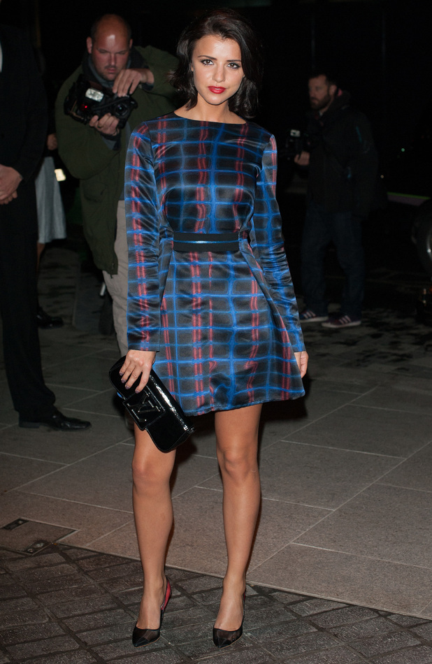Lucy Mecklenburgh attends the launch of the Mondrian Hotel in London, England - 9 October 2014