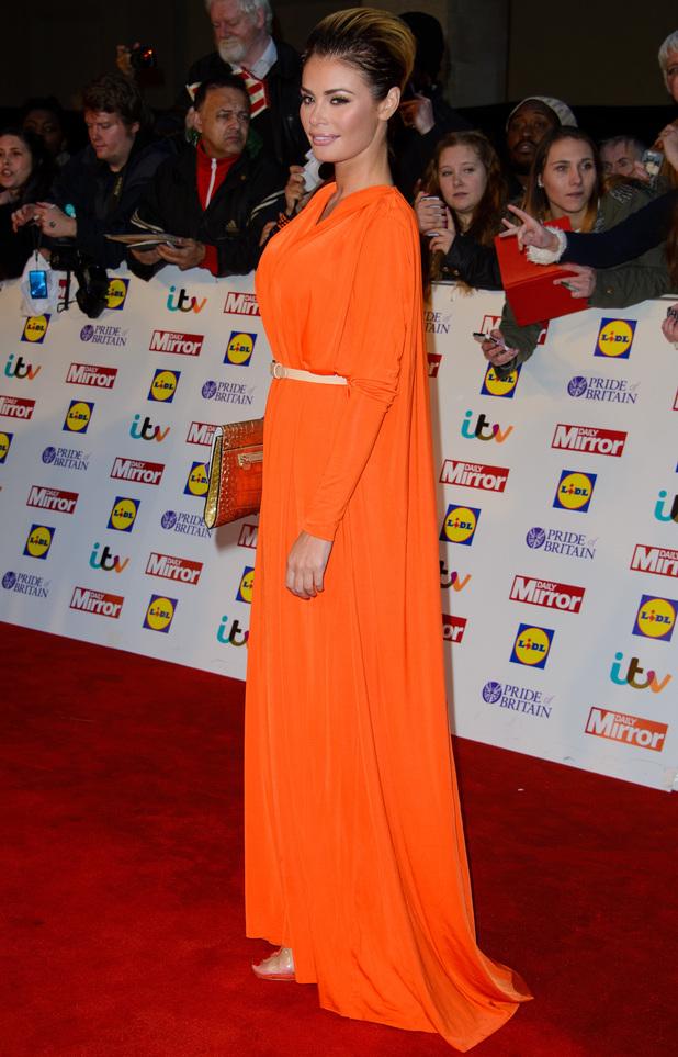 Chloe Sims at The Pride Of Britain Awards 2014 - 6 October 2014