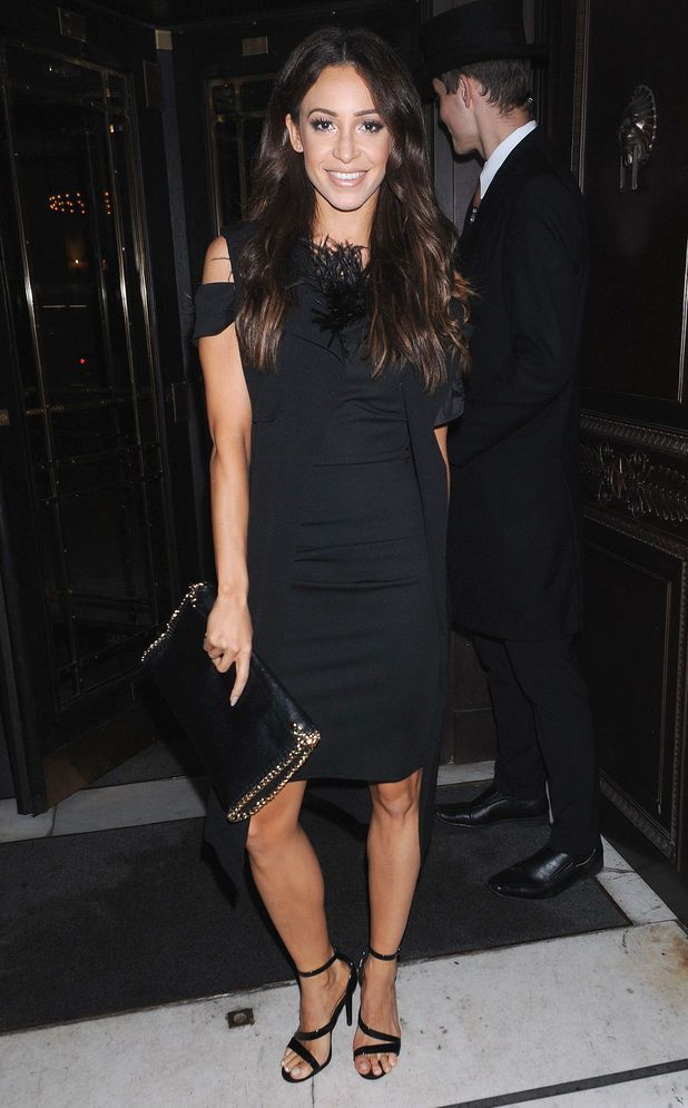 Danielle Peazer attends the launch of the LittleBlackDress.co.uk new clothing collection in London - 8 October 2014