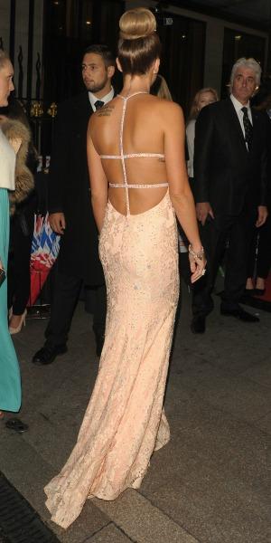 Danielle Lloyd, Pride of Britain Awards held at Grosvenor House Hotel, 6 October 2014