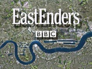 EastEnders logo - BBC One.
