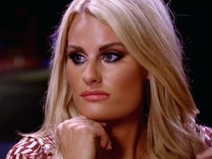 TOWIE's Danielle Armstrong and James Lock have a heart to heart in Ibiza - 13 October 2014
