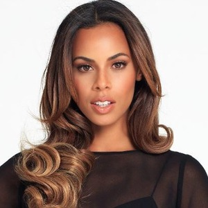 Rochelle Humes' portrait shot on a photoshoot, 15 October 2014