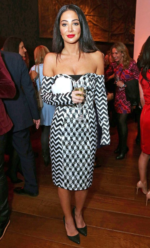 Tulisa Contostavlos attends Jonathan Shalit's OBE party in London, England - 14 October 2014