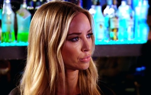 Lauren Pope and Lewis Bloor confrontation, he tries to apologise - 15 October 2014