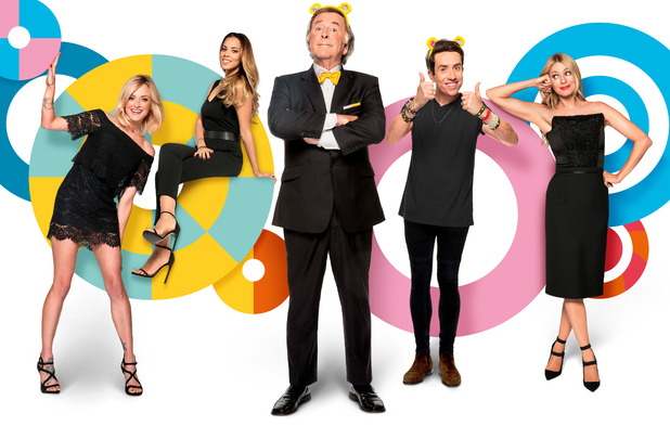 Children In Need presenting line-up for 2014  - Rochelle Humes, Fearne Cotton, Terry Wogan, Tess Daly and Nick Grimshaw 17 October
