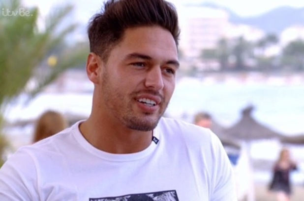TOWIE's Mario Falcone tells Chloe Sims that Charlie and Ferne argued in Ibiza - 13 October 2014