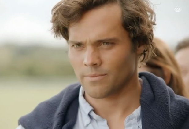 Made In Chelsea's Andy Jordan speaks to ex-Louise in preview clip - 15 October 2014.