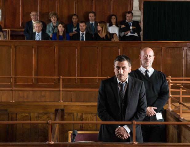 Corrie, the verdict on Peter, Mon 20 Oct