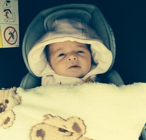 Miley Beau - Sam Bailey's newborn daughter 10 October