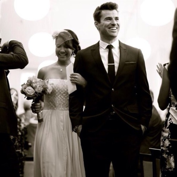 Steve Jones and Phylicia Jackson marry - October 2014