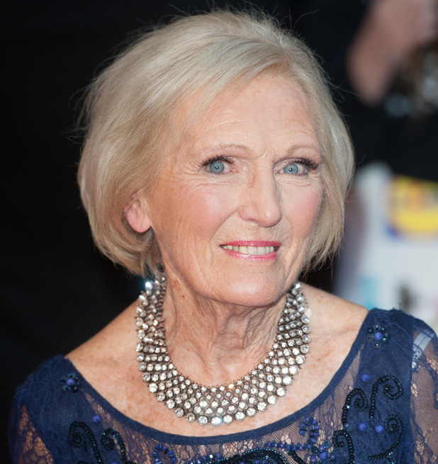 Mary Berry attends The 2014 Pride of Britain Awards held at the Grosvenor House, London 6 October