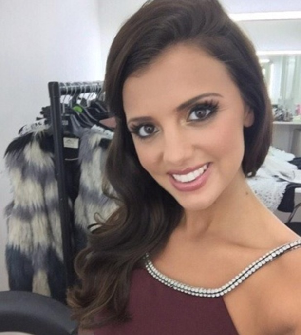 Lucy Mecklenburgh shows off new hair extensions 17 October