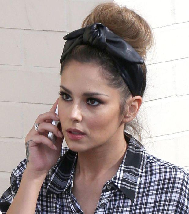 Cheryl Fernandez-Versini and 'The X Factor' contestants at Fountain Studios, London, Britain - 16 Oct 2014