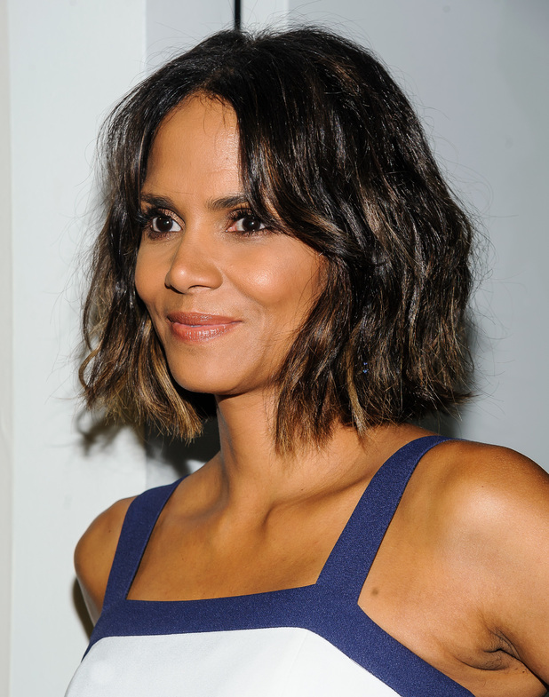 Halle Berry shows off her new Halle Berry