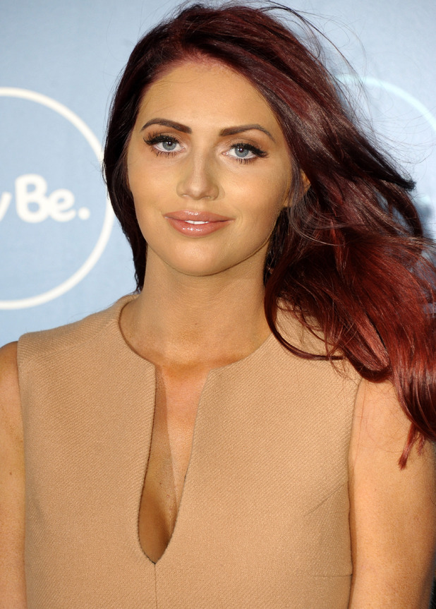 Amy Childs at ITVBe launch at ITV Studios - 7 Oct 2014