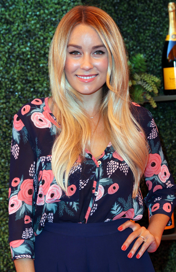 Lauren Conrad attends the Veuve Clicquot Polo Classic event in Los Angeles, America - 11 October 2014