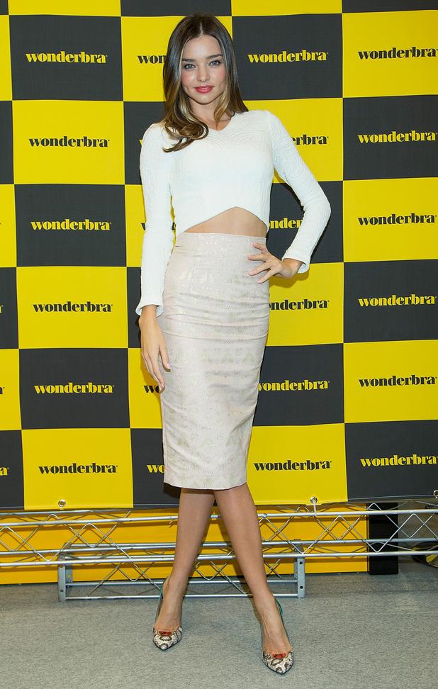Miranda Kerr attends an autograph session for Wonderbra in Seoul, South Korea - 15 October 2014