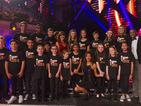 Nicole Scherzinger and child cancer survivors perform together