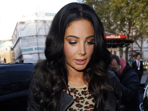 Tulisa rocks leopard print two-piece for 'Living Without You' promo