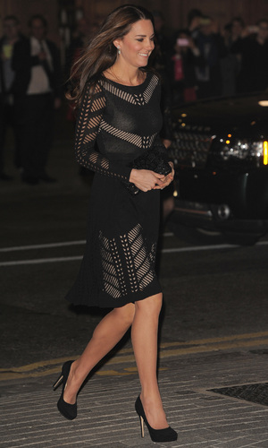 Catherine, Duchess of Cambridge attends an Autumn Gala Evening in Support of Action on Addiction on October 23, 2014 in London, United Kingdom.