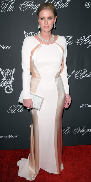Nicky Hilton attends the Angel Ball in New York, America - 20 October 2014