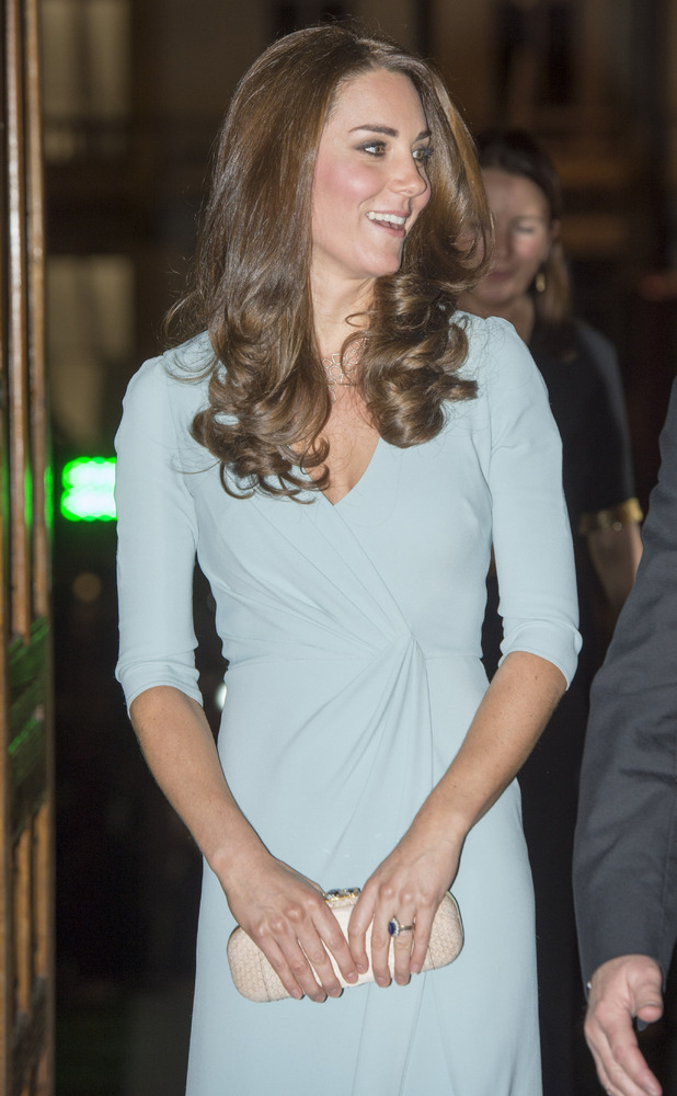 Kate Middleton attends the Wildlife Photographer of The Year Awards, held at the Natural History Museum in London, England - 21 October 2014