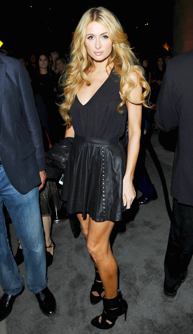 Paris Hilton attends the opening of Restoration Hardware in Los Angeles, America - 22 October 2014