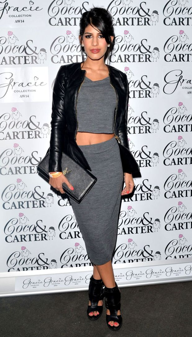 TOWIE's Jasmin Walia attends Grace Andrews' clothing launch held at Sugarhut in Essex - 23 October 2014