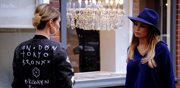 Chloe Sims and Jess Wright fallout, TOWIE 18 October