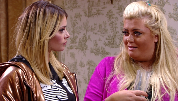 TOWIE's Gemma Collins drops a bombshell about Elliott Wright to Chloe Sims, 25 October 2014