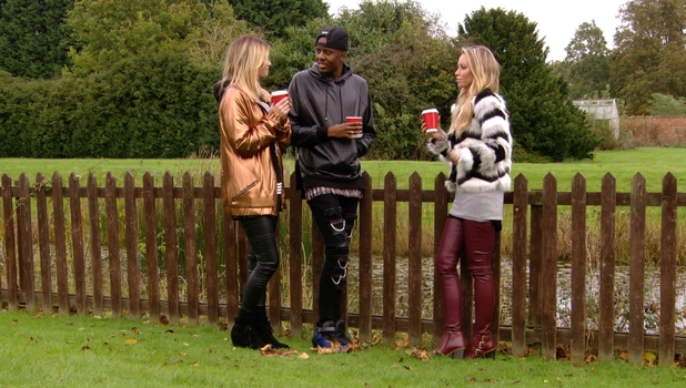 TOWIE's former friends Chloe Sims and Lauren Pope come face to face with the help of mutual friend Vas J Morgan, 25 October 2014