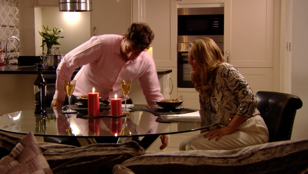 TOWIE's Lydia Bright and James 'Arg' Argent have a crisis talk date, 25 October 2014