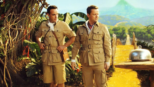 Ant and Dec in new I'm a Celebrity... Get Me Out of Here! - 22 October 2014.