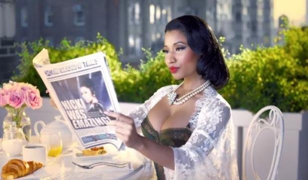 Nicki Minaj, MTV EMAs promo video