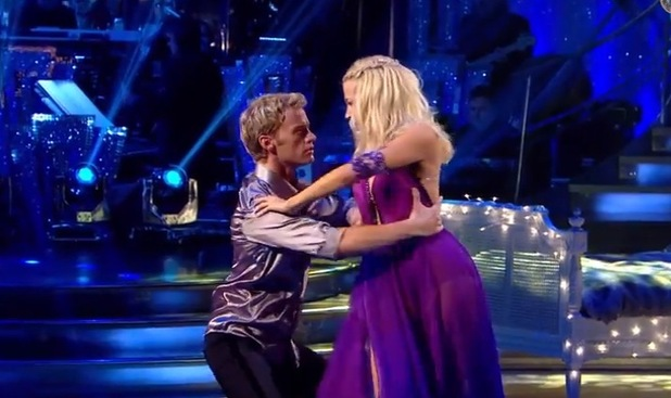 Pixie Lott performs the Rumba, Strictly Come Dancing 19 October