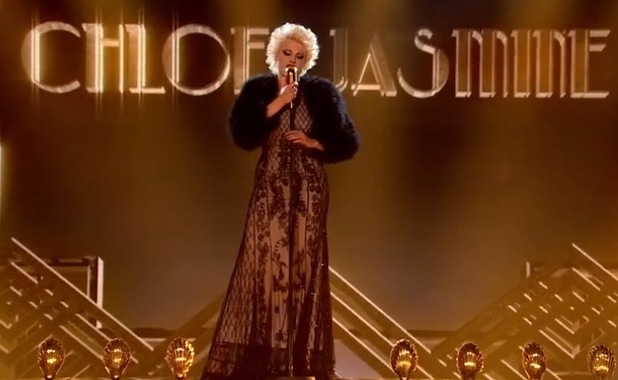 Chloe-Jasmine Whichello performs on The X Factor - 18 October 2014
